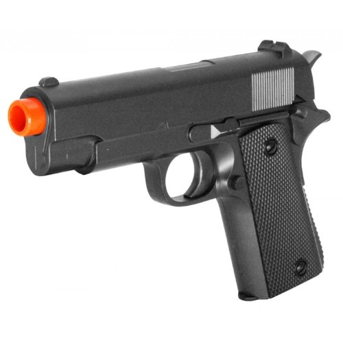 Zm22 Spring Airsoft Pistol Metal Pocket Fps-225 Heavy Weight Full Metal Construction by Velocity Airsoft
