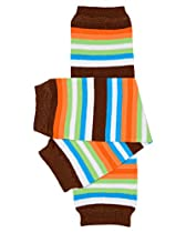 William Stripe baby leg warmers for boy or girl by juDanzy
