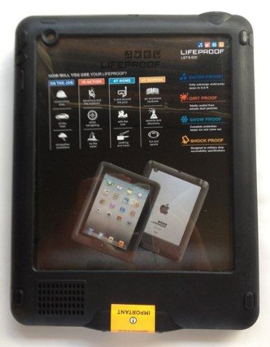 並行輸入品LIFEPROOF Apple au softbank iPad2/3/4用防水防塵耐衝撃ケース LifeProof nuud for iPad ブラック 1101-'01
