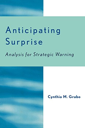 Anticipating Surprise: Analysis for Strategic Warning