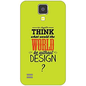 Samsung Galaxy S4 think world Phone Cover - Matte Finish Phone Cover