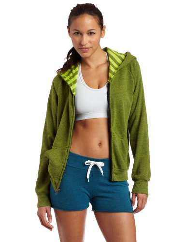 Jillian Michaels Collection by K-SWISS Women's Slim Hoody Paradise Green- L