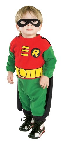 Teen Titans Robin Costume Accessory - Infant front-507955