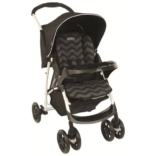 Graco Mirage+ Travel System - Black ZigZag