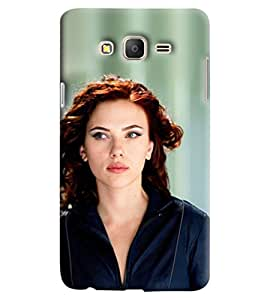 Blue Throat Hoolywood Heroine Printed Designer Back Cover/Case For Samsung Galaxy On 5