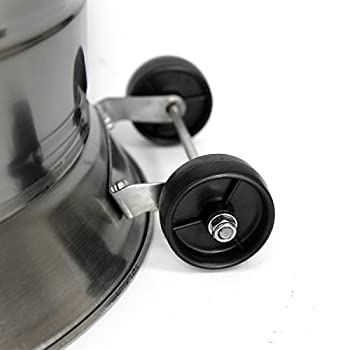 XtremepowerUS 48,000 BTU Premium Floor Standing Propane Outdoor Patio Heater (Bronze Hammered)