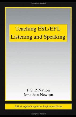 Teaching ESL/EFL Listening and Speaking (ESL &...