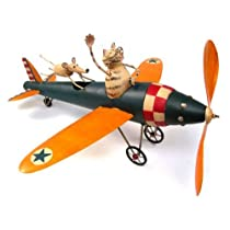 Cat & Mouse Aviator Whirligig