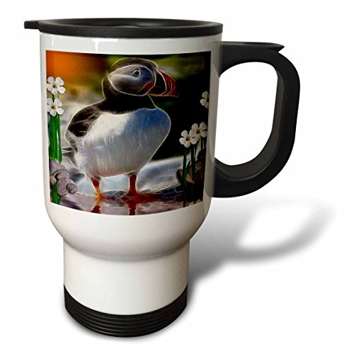 Puffin Travel Mug<br> 14-Ounce