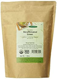 Davidson\'s Tea Bulk, Decaf Green, 16-Ounce Bag