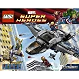 Toy / Game LEGO Quinjet Aerial Battle 6869 With Dual Flick Missiles And Control Platform That Raises Or Lowers