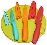 Fiesta 7-Piece Cutlery Set with Cutting Board