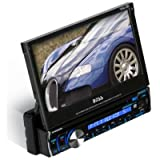Single Din Dvd Receiver 7in Motorized Touchscreen Monitor