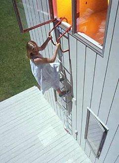 12 Emergency Button Quick Escape Chain Ladder Qfl 12ft