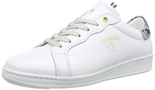 Pantofola d'OroFELICITA - Scarpe da Ginnastica Basse Donna , Multicolore (Mehrfarbig (BRIGHT WHITE / ROYAL BLUE)), 37