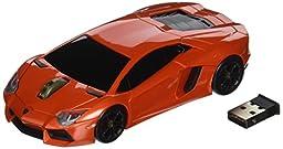 Lamborghini Aventador Wireless Mouse (Red)