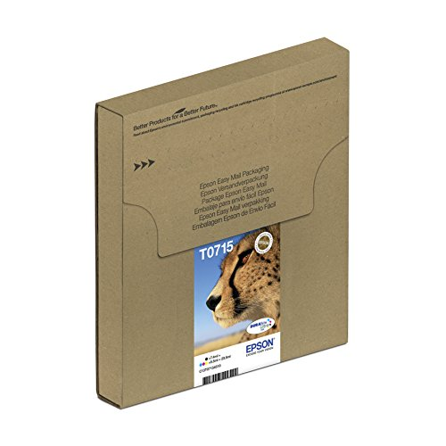 epson t0715 cartouche d 39 encre d 39 origine durabrite ultra multipack noir cyan 42 99. Black Bedroom Furniture Sets. Home Design Ideas