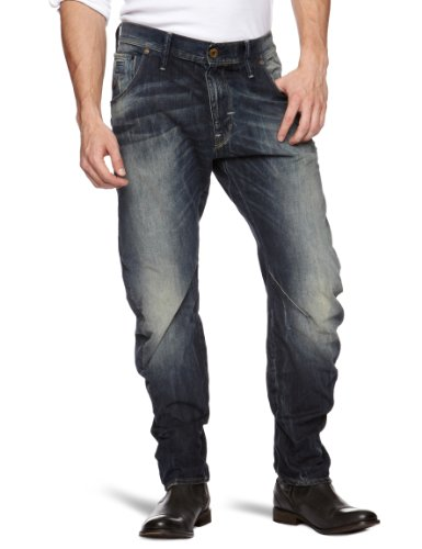 G-Star Arc 3D Loose Tapered Men's Jeans Rugby Wash W38INxL34IN