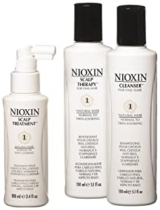 Nioxin Starter Kit, System 1 (Fine/Untreated/Normal to Thin-Looking)