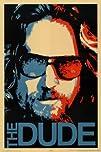 The Big Lebowski Movie The Dude Poster Print  2421536 Movie