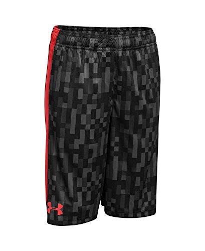 Under Armour Big Boys' UA Eliminator Printed Shorts Youth X-Large Graphite