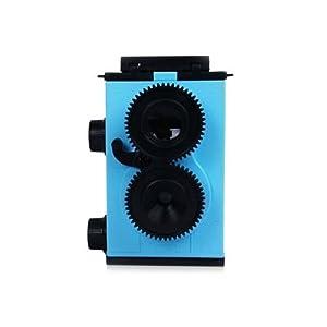 Recesky 35mm Lomo Holga TLR Camera DIY KIT (GakkenFlex clone) (Blue)
