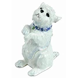 Hidden Treasures Trinket Box - Westie