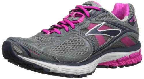 Brooks Womens Ravenna 5 W Running Shoes 1201491B672 Pink Glow/Primer Grey/Midnight 3 UK, 35.5 EU, 5 US Regular