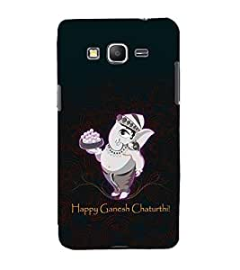 printtech Lord God Ganesha Chaturthi Back Case Cover for Samsung Galaxy Grand Prime G530h