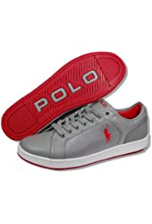 Polo Ralph Lauren Trevose Low Mens Leather Sneakers Shoes