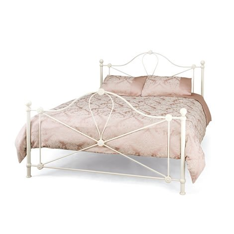 Small Double Bed - 4ft Metal Bed Frame - Lyon Bedstead and Bedmaster Pinerest Mattress