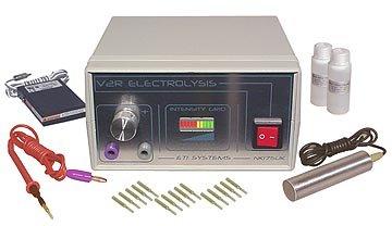 V2RG Standard Galvanic Epilator for Permanent Hair Removal. 1 year warranty.