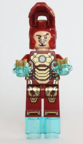 LEGO Marvel Super Heroes Minifgure Iron Man (Mark 42 Armor) - 1
