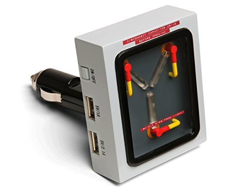 Back to the Future Flux Capacitor USB Car Charger -