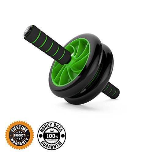 Ab Roller Wheel :: Abs Carver for Abdominal & Stomach Exercise Training :: Fitness Equipment Core Shredding (Push Up Wheel compare prices)