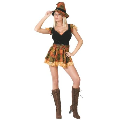 Amazon.com : Scarecrow Costume Sexy Scarecrow Halloween Medium/Large
