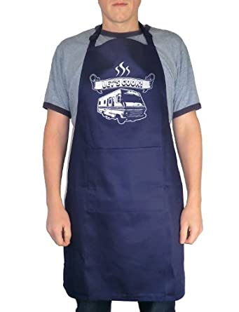 Balcony Shirts 'Let's Cook' Apron - Navy