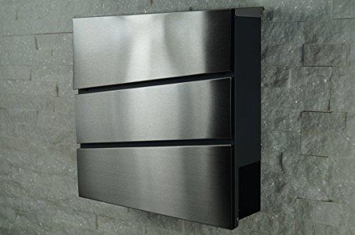 briefkasten edelstahl design design briefkasten edelstahl holz design edelstahl briefkasten. Black Bedroom Furniture Sets. Home Design Ideas