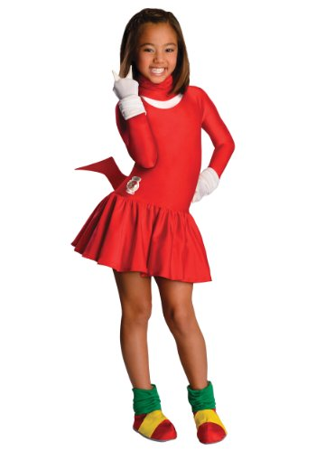 Sonic The Hedgehog Girls Knuckles Costume