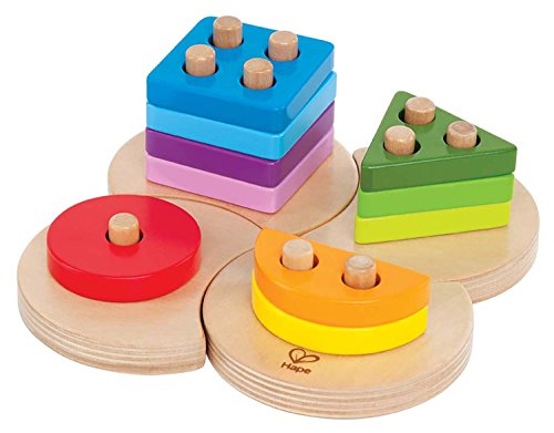 Hape Early Explorer - Geometric Sorter Toy - 1