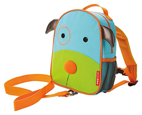 Skip Hop Zoo Little Kid & Toddler Safety Harness Backpack (Ages 2+), Multi, Darby Dog (Skip Hop Harness compare prices)