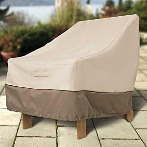 Patio Chair Cover Stackable by CLASSIC ACCESORIES