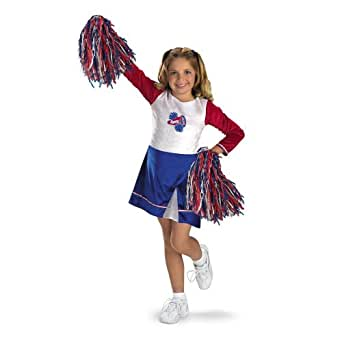 Kids High School Spirit Cheerleader Costume