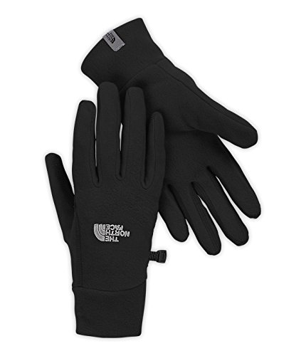The North Face Women's TKA 100 Glacier Gloves-(Large, TNF Black)