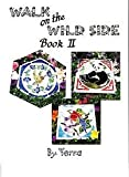 img - for WALK ON THE WILD SIDE II Stained Glass Stepping Stone Pattern Book book / textbook / text book