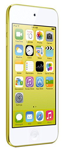 Apple iPod touch 16GB - MP3/MP4 players (MP4, Yellow, Lightning, iOS, Lithium-Ion (Li-Ion), 1136 x 640 pixels)