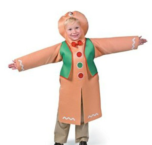 Gingerbread Child Halloween Costume