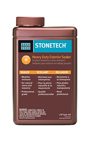 StoneTech Heavy Duty Exterior Sealer for Stone & Masonry, 1-Quart (.946L) (Outdoor Stone Sealer compare prices)