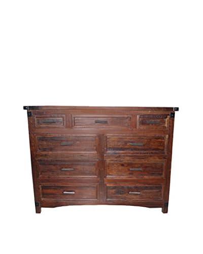 Tottenham Court Adelina Drawer Dresser, Nutmeg Brown
