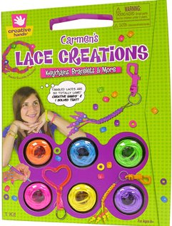 Carmen's Lace Creations by Creative Hands - create jewelry, key chains and more - 1